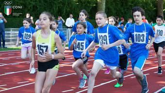 Leichtathletik am italienischen Sporttag: Die Jugendlichen können in insgesamt fünf Disziplinen antreten.