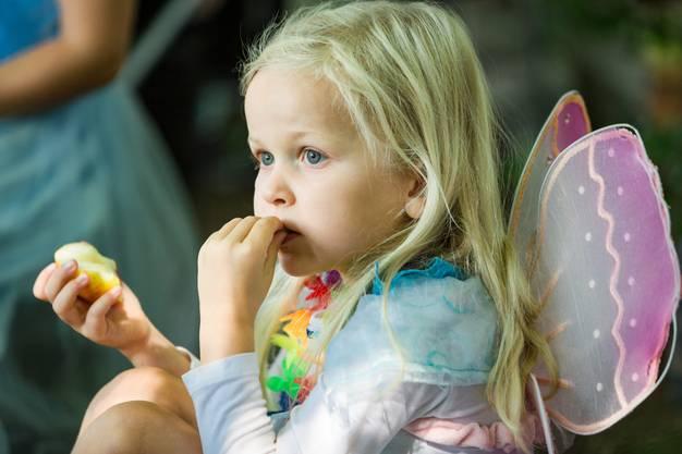 Wer einem Märli lauscht, isst etwas unkonzentriert.