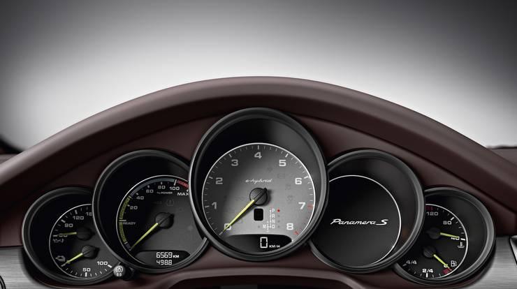 Cockpit des Hybridmodells