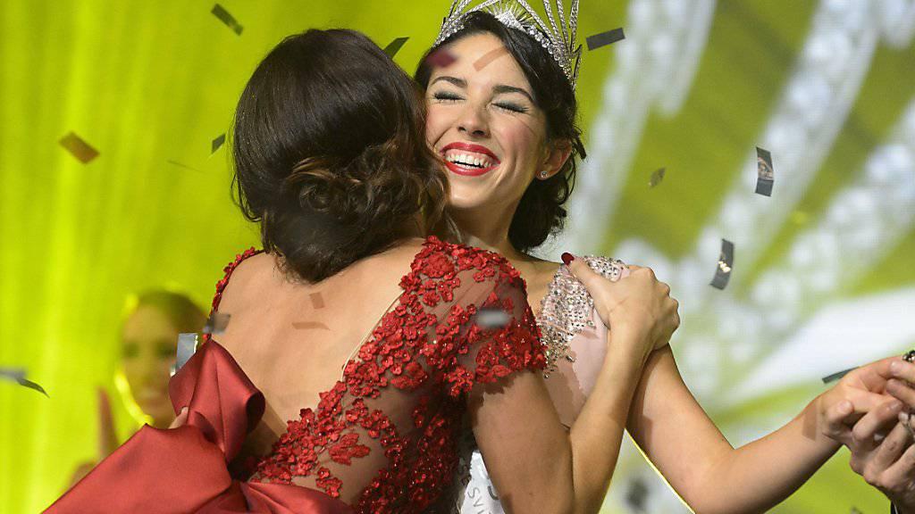Der Privatsender 3+ will aus der Miss-Wahl wieder eines grosses TV-Ereignis machen - die amtierende Miss-Schweiz Lauriane Sallin muss ihre alsdann Krone weitergeben.