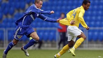 Bereits 2007 empfing Congeli in der zweiten Cuprunde den FCZ im Joggeli.