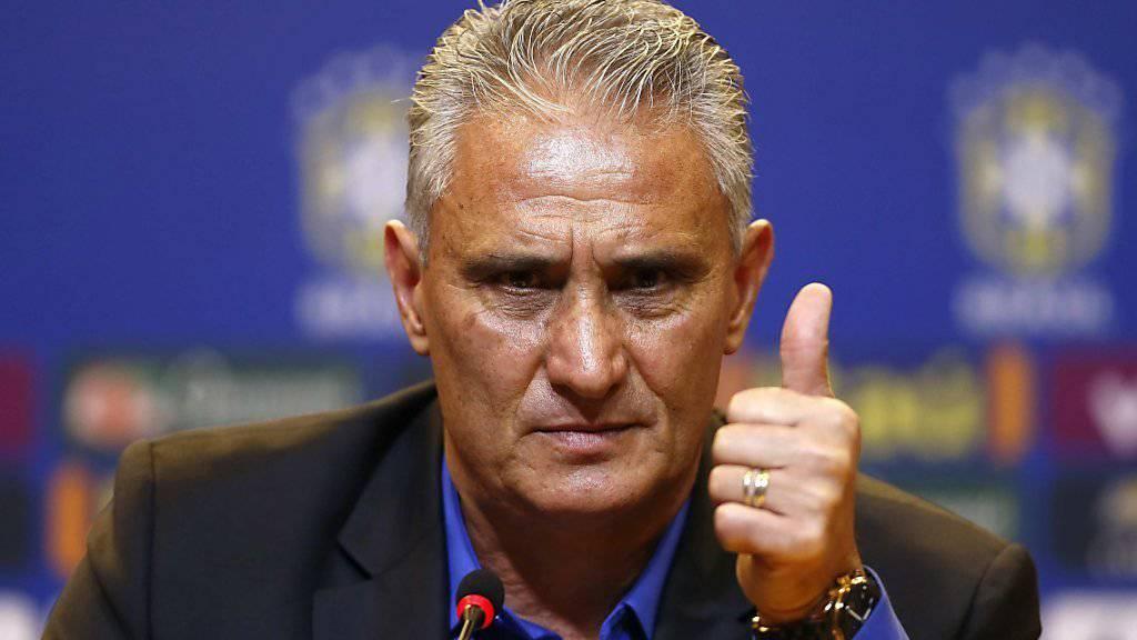 Tite will Brasilien wieder an die Spitze führen
