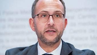 Norman Gobbi, Präsident der Tessiner Kantonsregierung.