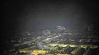 Erste Einblicke in den zerstörten Reaktor Nummer 1. Nach drei Stunden musste der speziell dafür konstruierte Roboter aufgeben.
