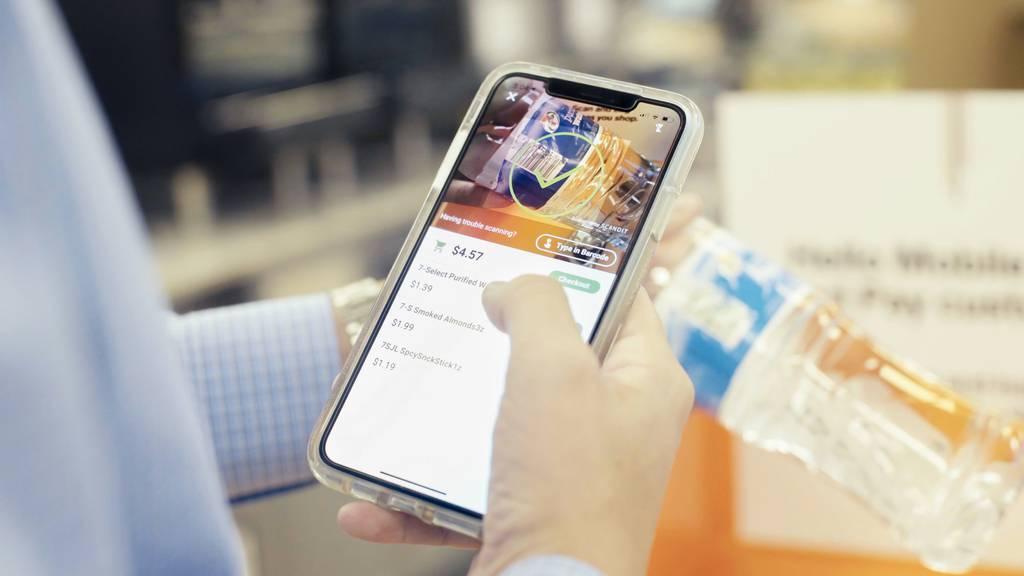 Vernetzt: Den Einkauf mit dem Smartphone scannen und zahlen