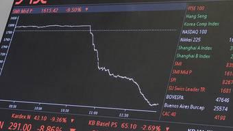 Coronavirus setzt Aktienmärkte unter Druck (Symbolbild)