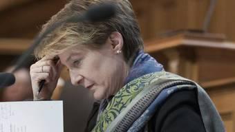 Bundesrätin Simonetta Sommaruga fand mit dem Anliegen eines zweijährigen Bundespräsidiums kein Gehör im Ständerat (Archivbild)