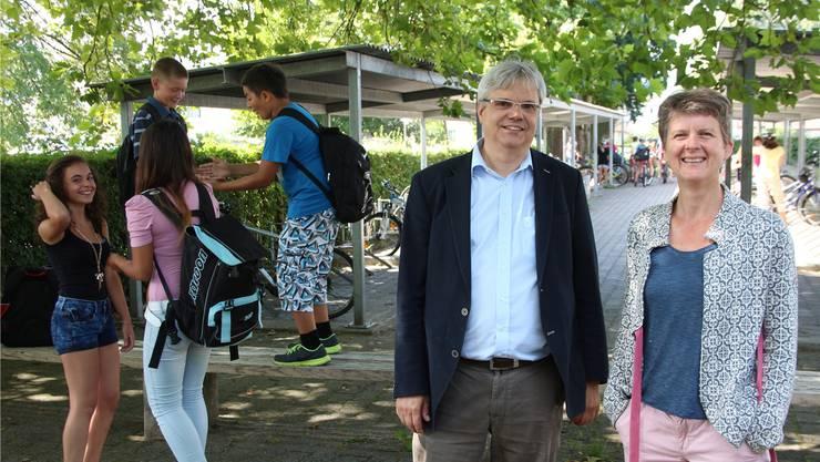 Wolfgang Kayser und Viola Walter übernehmen die Leitung der Kreisschule am Maiengrün. Beide sind als Berater tätig.ROB