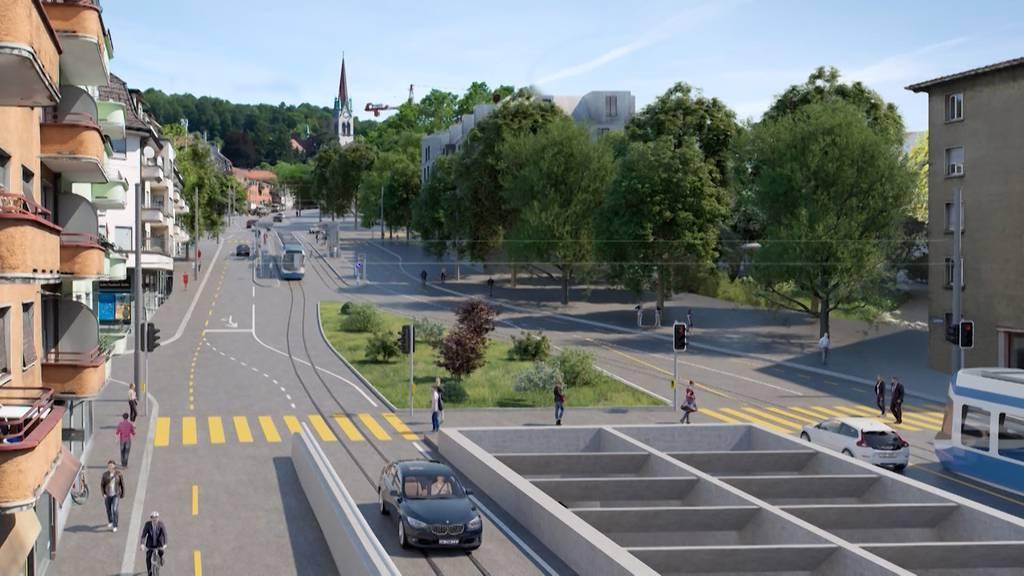 Zürcher Regierungsrat weibelt für umstrittenen Rosengartentunnel