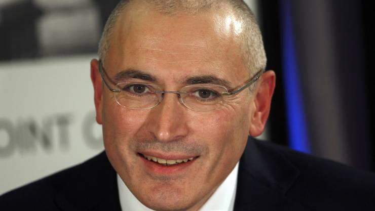 Michail Chodorkowski wird von Russlands Justiz des Mordes bezichtigt. (Archivbild)