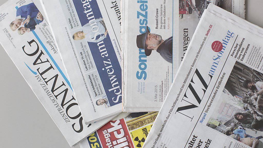 Die Sonntagszeitungen widmen sich ausgiebig dem Vorschlag einer Schutzklausel, mit dem der Bundesrat die Zuwanderungsinitiative umzusetzen gedenkt. (Archiv)