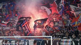 Hochrisiko? Den Basler Fans droht ein Hausverbot beim Europa-League-Spiel gegen Saint-Étienne.