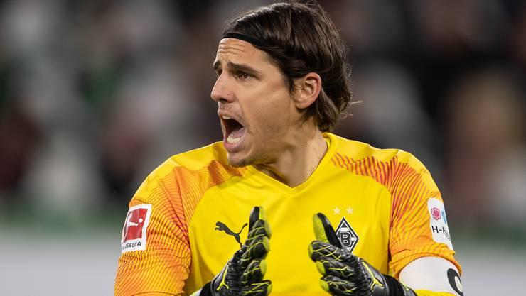 Yann Sommer will mit seinen Borussen in Leipzig gewinnen.