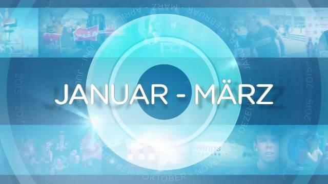 Jahresrückblick: Jan - März