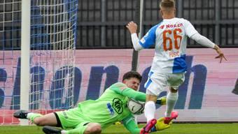 FCA-Keeper Nicholas Ammeter verhinderte eine noch höhere Niederlage.