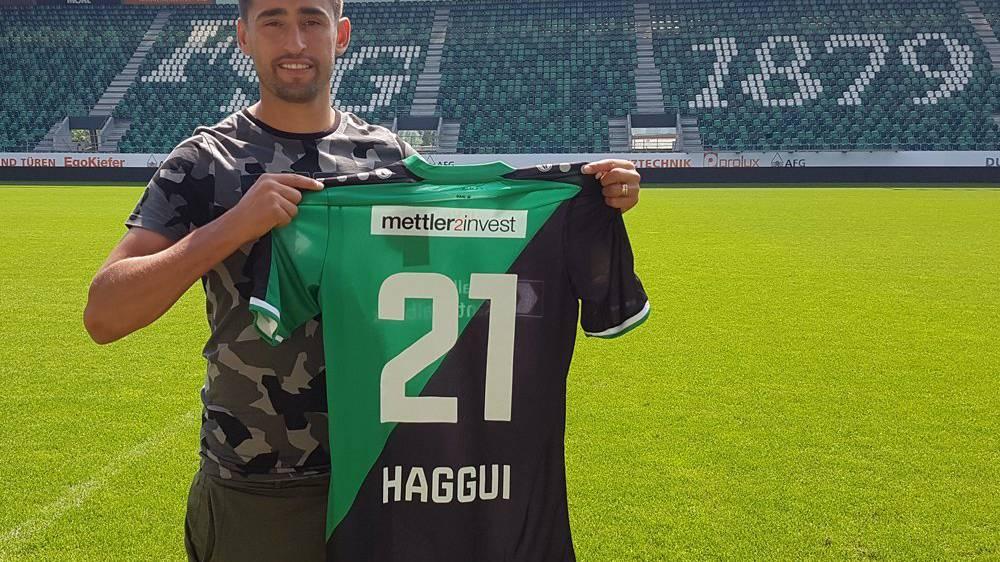 Karim Haggui neu im Kader des FC St.Gallen.