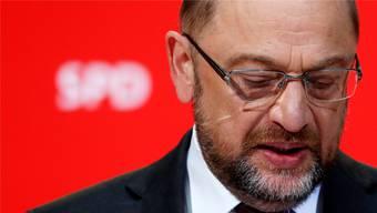 SPD-Chef Martin Schulz steht ein turbulenter Parteitag bevor: Er hofft auf ein starkes Mandat für Gespräche mit der Union. Keystone
