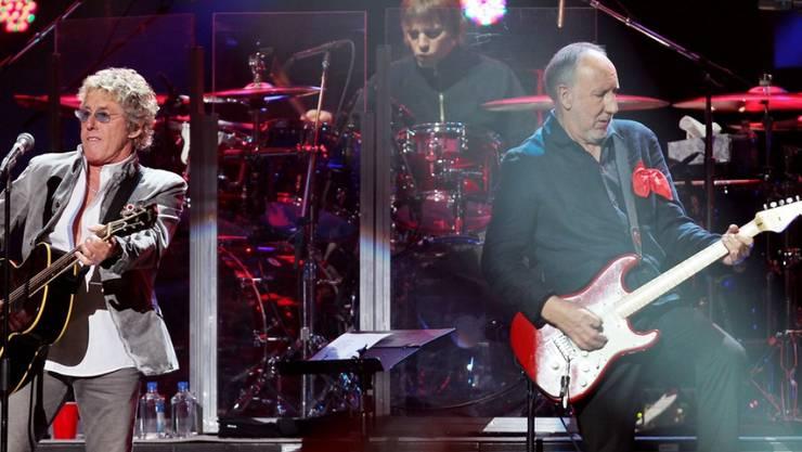 The-Who-Mitglieder Roger Daltrey (l.) und Pete Townshend wollen es noch einmal wissen: Noch in diesem Jahr soll ein neues Album erscheinen. (Archivbild)