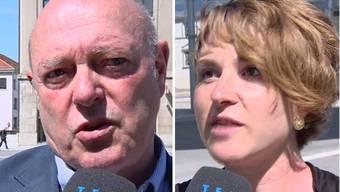 Widersprechen sich: Ulrich Giezendanner und Iréne Kälin.