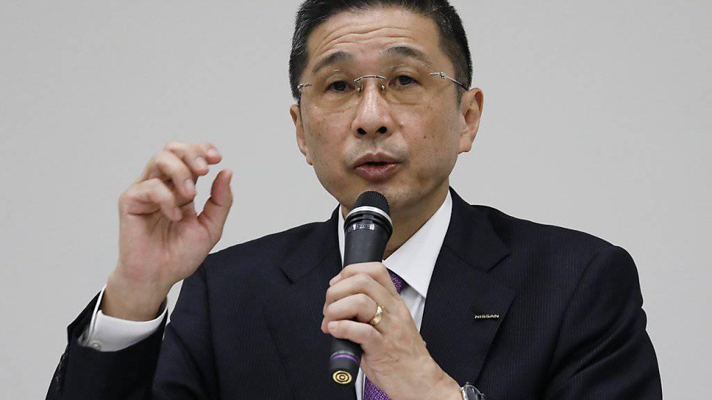 Nach dem Skandal um unzureichende Sicherheitsprüfungen verzichtet Nissan-Chef Hiroto Saikawa auf einen Teil seines Lohns. Um wie viel es geht, sagte er nicht.