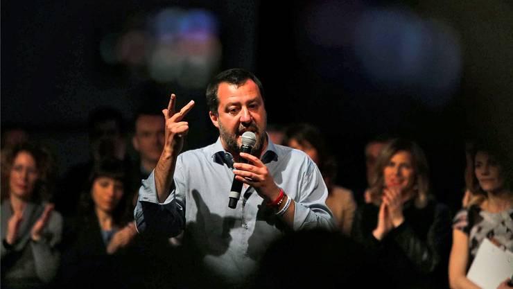 Der grosse Sieger der vergangenen Regionalwahlen: Matteo Salvini. Key