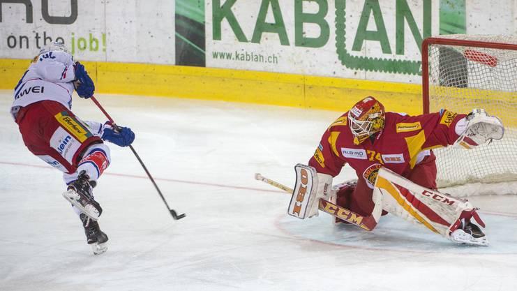 Ivars Punnenovs erklärt: «Zum Zeitpunkt, als ich in Langnau verlängerte, hatte ich keine andere Offerte.»
