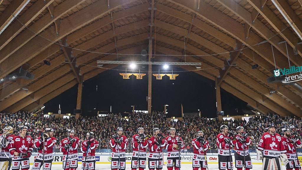Das Team Canada ist mit 15 Turniersiegen ex-aequo mit Gastgeber Davos Rekordsieger am Spengler Cup