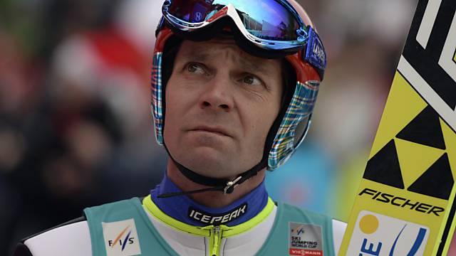 Janne Ahonen darf nicht an die Vierschanzentournee