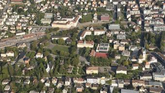 Das Areal zwischen Nordbahnhof und Kirchstrasse soll aufgewertet werden.