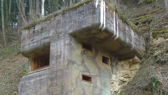 Dieser Bunker aus dem Zweiten Weltkrieg soll im Frühling 2015 der Öffentlichkeit zugänglich sein.