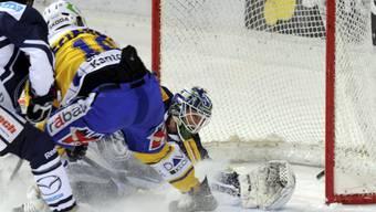 Grégory Sciaroni erzielte das 2:0 für Davos