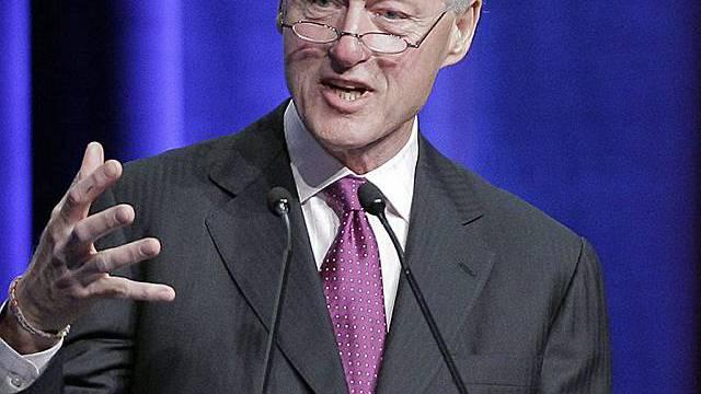 Ex-Präsident Bill Clinton plädiert für gezieltere Einsetznug von Geldern