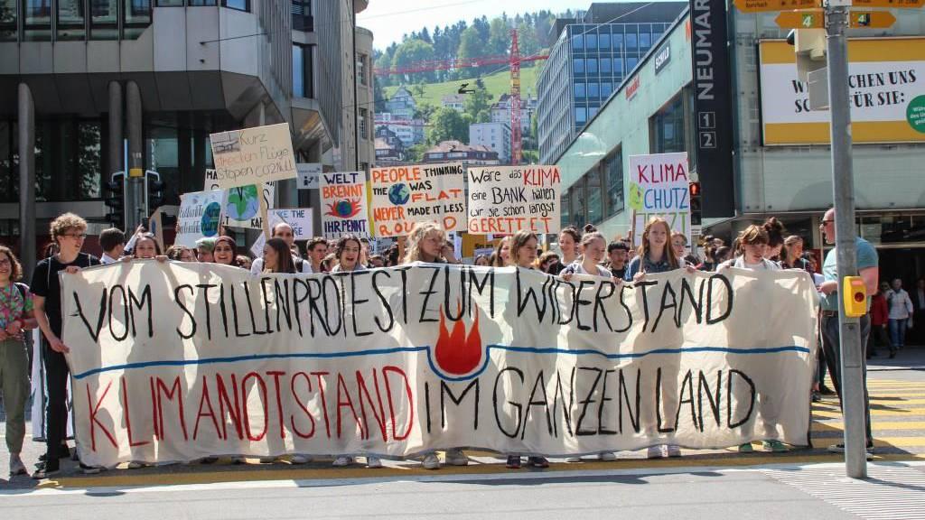 Klimademo: Anzeige wegen Blockade