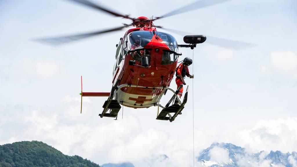Rega-Helikopter an Pfingsten rund 130 Mal im Einsatz