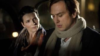 """Lars Eidinger - hier neben Juliette Binoche in """"Clouds of Sils Maria"""" - spielte schon 250 Mal Hamlet und ein Ende ist nicht abzusehen (Archiv)."""