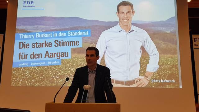 Ständerat: Thierry Burkarts erste Worte nach der Nomination