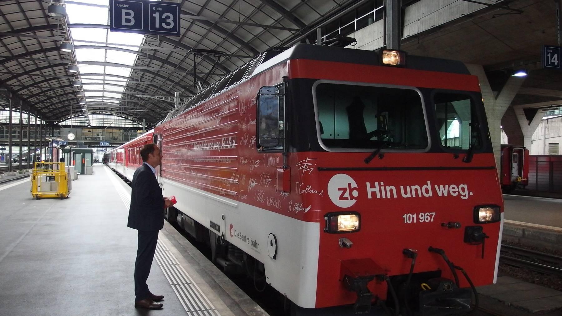Zentralbahn will neue Lokomotiven