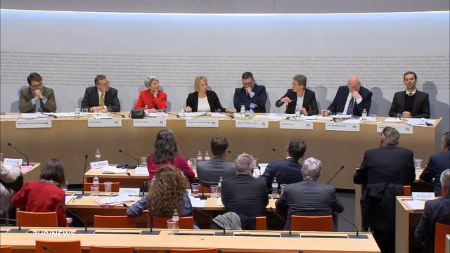 Nationalrat beantwortet Fragen zum EU-Rahmenabkommen