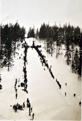 Das Bild stammt vermutlich aus den 1930er Jahren.