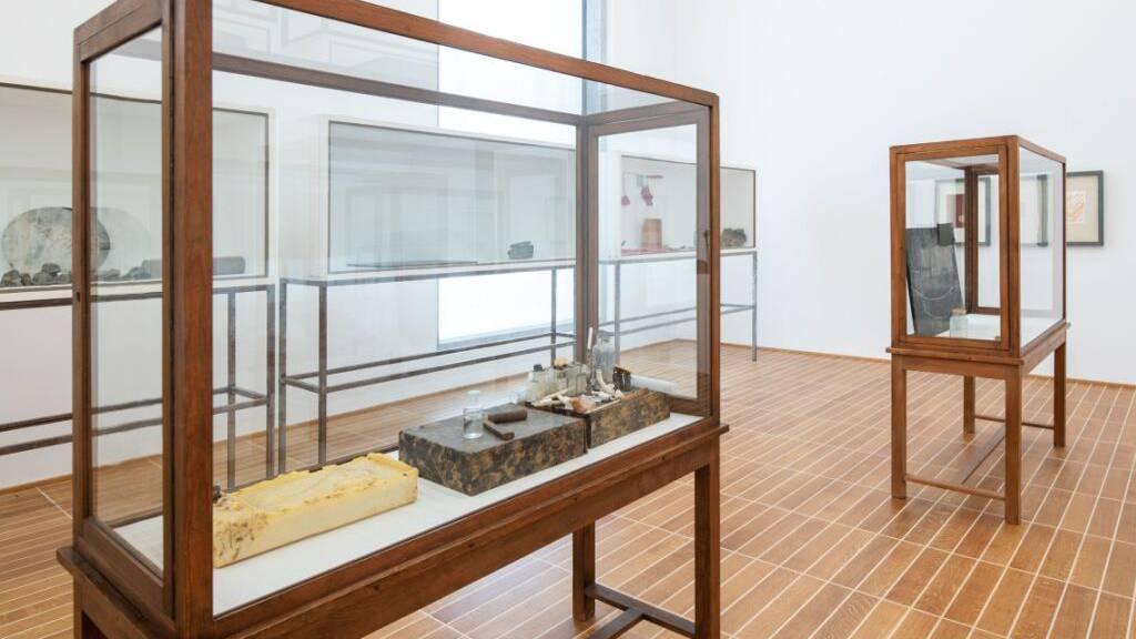 Schenkung von elf Beuys-Vitrinen an das Kunstmuseum Basel
