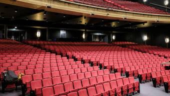 Grossveranstaltungen mit mehr als 1000 Personen wird es in Basel dieses Jahr nicht mehr geben (im Bild das Musical Theater).