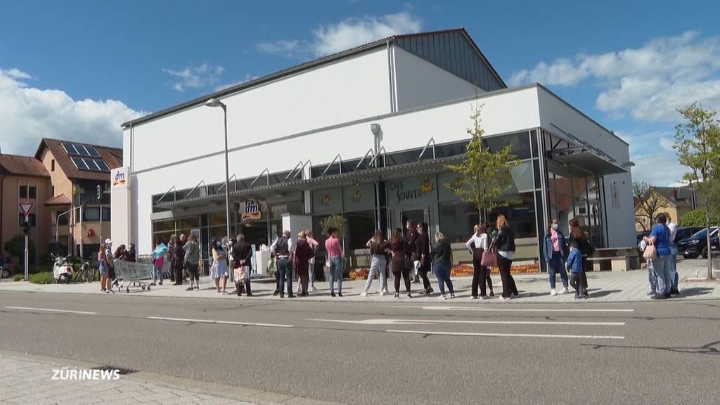 Einkaufstourismus nach Deutschland ab heute wieder möglich
