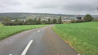 Blick von der Kantonsstrasse Richtung Niederrohrdorf. (Symbolbild)