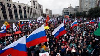 Der Unmut in Moskau ist gross.