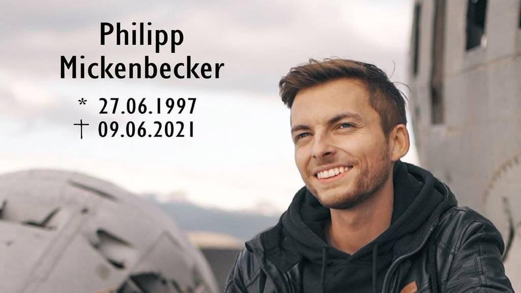 Youtuber Philipp Mickenbecker (†23) ist tot