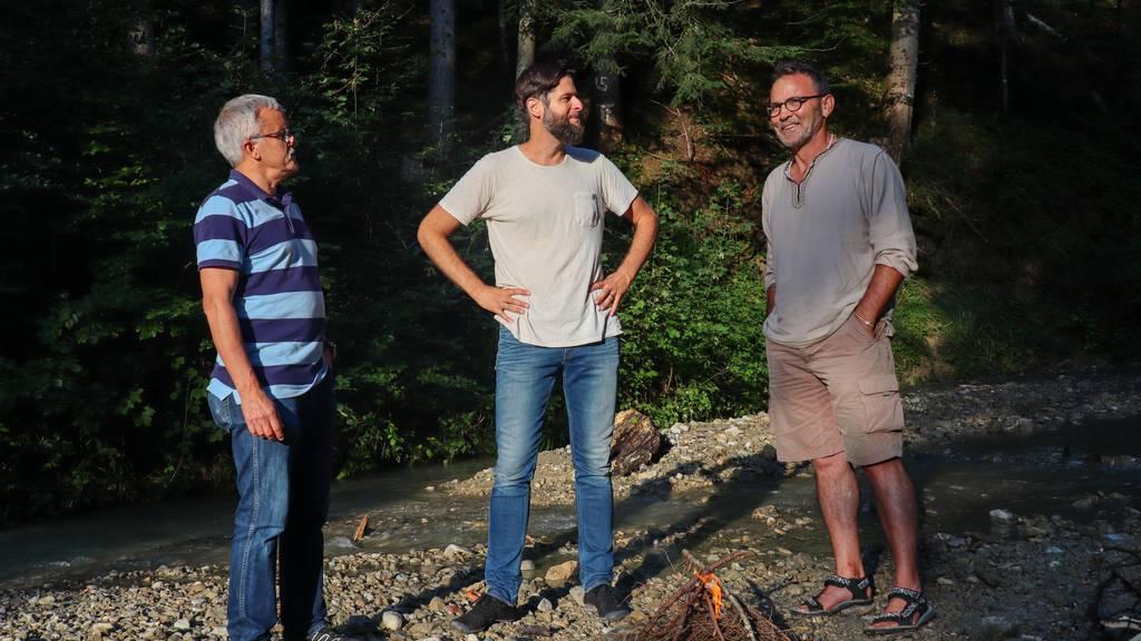 Experiment im Wald: Männer wollen wie Gallus leben