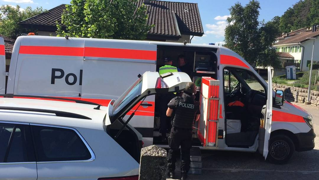 Polizeieinsatz in Klingnau
