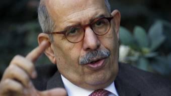 Für al-Baradei ist die Zeit für einen Rücktritt Mubaraks reif (Archiv)