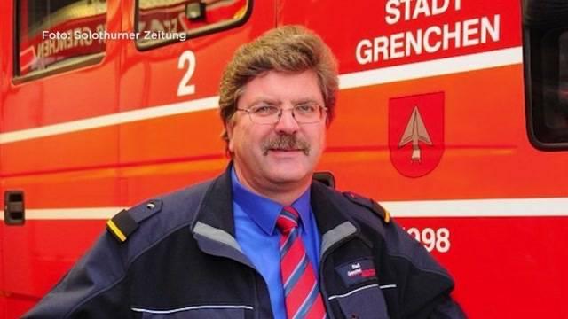 Blau statt mit Blaulicht:  Feuerwehrkommandant Bruno Bider fährt betrunken mit einem Dienstfahrzeug.
