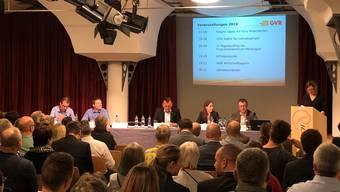 An der Generalversammlung des Gewerbevereins Rheinfelden präsentierte Monika Hasler die Veranstaltungen im laufenden Jahr. Zudem blickten die Verantwortlichen schon ins Jahr 2019 und die Premiere der Expo unteres Fricktal voraus.